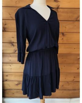 "Robe ""sud express"" bleue marine"