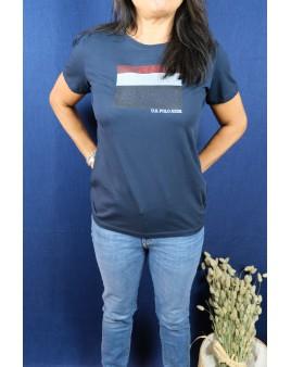 Tee-shirt bleu marine u.s polo